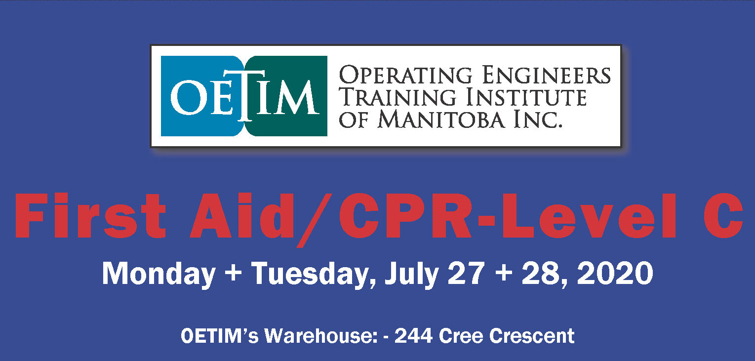 Image for First Aid/CPR- Level C Course: July 27 & 28, 2020