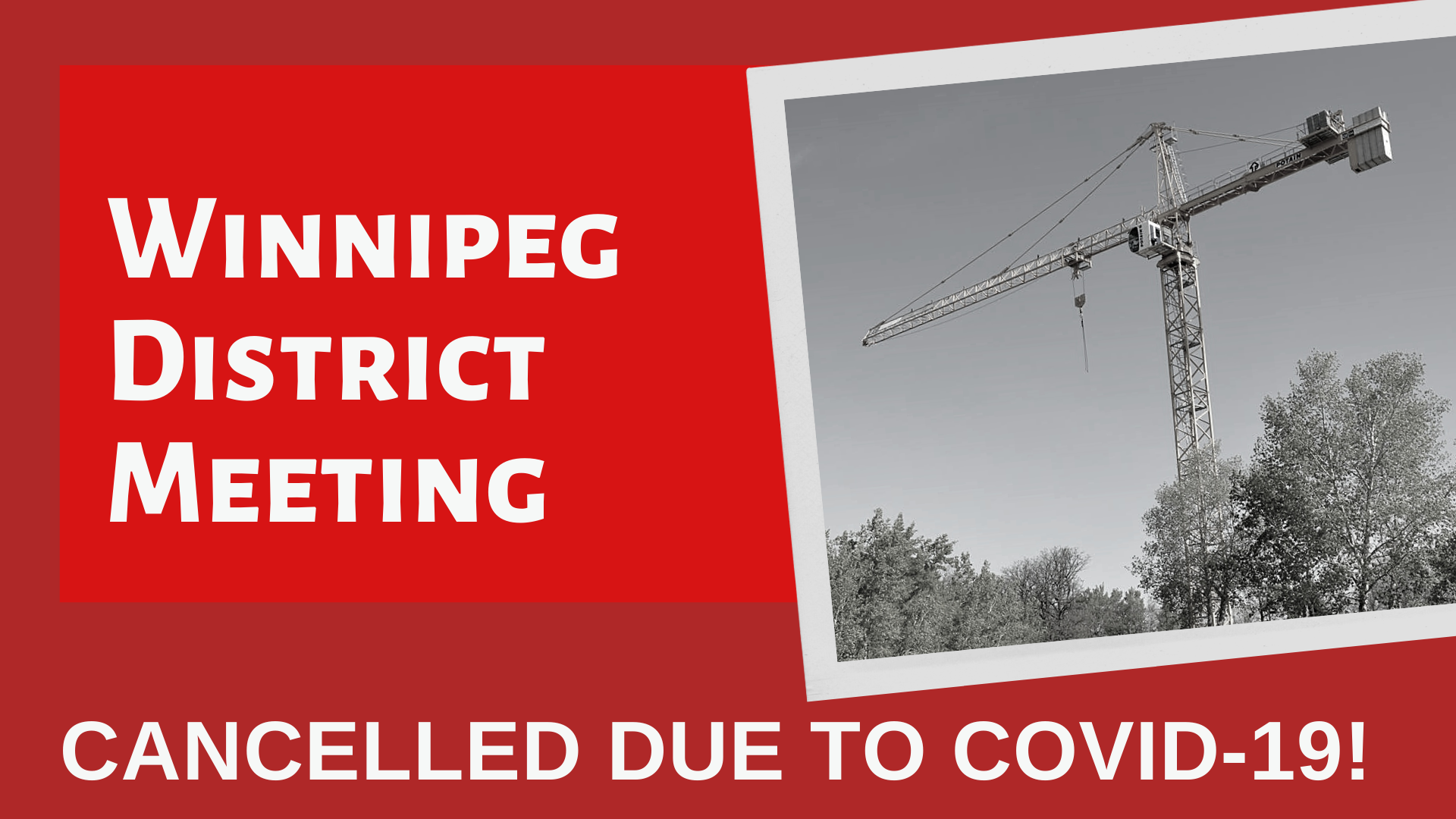 Image for OE987 Winnipeg District Meeting – *CANCELLED*