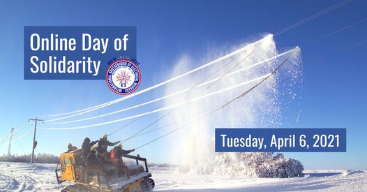 Image for IBEW Local 2034 – Online Day of Solidarity